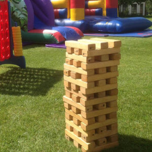 giant jenga Tom Taylor Ents