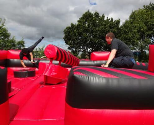 Total wipeout Happy Days Entertainment