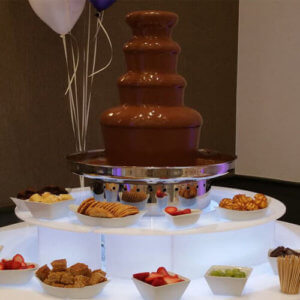chocolate fountain Tom Taylor Ents